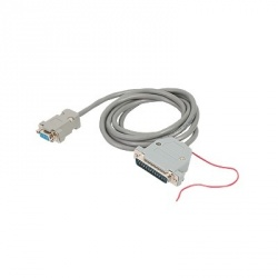 Kenwood Cable DB9F Macho - DB25M Hembra, Gris