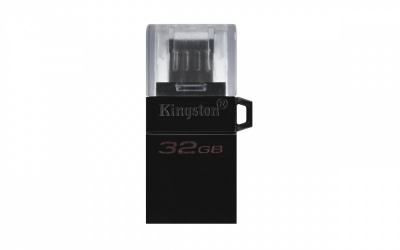 Memoria USB Kingston microDuo3 G2, 32GB, USB/Micro USB 3.2, Negro