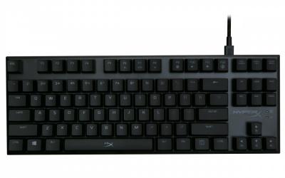 Teclado Gamer Kingston HyperX Alloy FPS Pro LED Rojo, Teclado Mecánico, Cherry MX Blue, Alámbrico, Negro (Inglés)