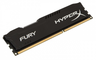 Memoria RAM HyperX FURY Black DDR3, 1600MHz, 8GB, Non-ECC, CL10