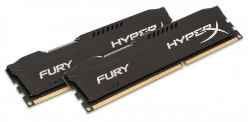 Kit Memoria RAM Kingston HyperX FURY Black DDR3, 1866MHz, 16GB (2 x 8GB), Non-ECC, CL10