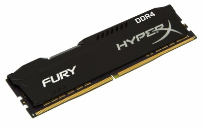 Memoria RAM HyperX FURY Black DDR4, 2666MHz, 4GB, Non-ECC, CL15