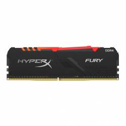 Memoria RAM Kingston HyperX FURY RGB DDR4, 2666MHz, 16GB, Non-ECC, CL16, XMP