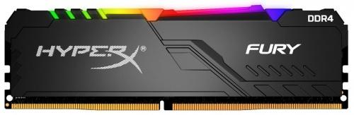 Memoria RAM Kingston HyperX Fury RGB DDR4, 2666MHz, 16GB, Non-ECC, XMP