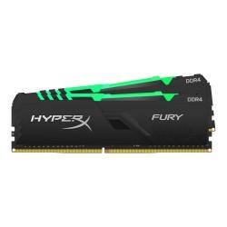 Kit Memoria RAM Kingston HyperX FURY DDR4, 3600MHz, 16GB (2 x 8GB), Non-ECC, CL17, XMP