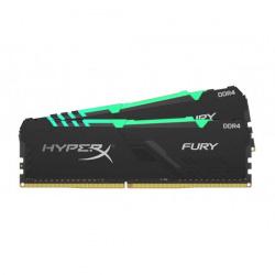 Kit Memoria RAM Kingston HyperX FURY RGB DDR4, 3600MHz, 32GB (2 x 16GB), CL18, XMP