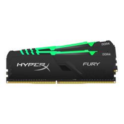 Kit Memoria RAM Kingston HyperX FURY Black RGB DDR4, 3733MHz, 32GB (2x 16GB), CL19, XMP