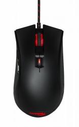 Mouse Gamer HyperX Óptico Pulsefire FPS, Alámbrico, USB, 3200DPI, Negro + Mousepad FURY S