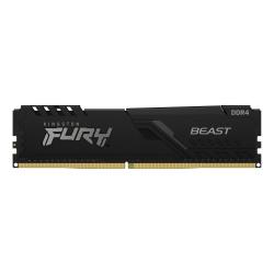 Memoria RAM Kingston FURY Beast Black DDR4, 3600MHz, 16GB, Non-ECC, CL18, XMP