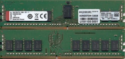 Memoria RAM Kingston Server Premier DDR4, 2400MHz, 16GB, ECC, CL17