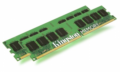Kit Memoria RAM Kingston DDR2, 400MHz, 4GB (2 x 2GB), CL3, Single Rank x4, para HP