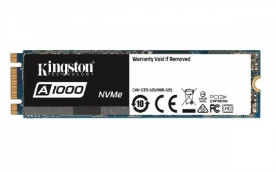 SSD Kingston A1000 NVMe, 240GB, PCI Express, M.2 ― ¡Obtén 15% de descuento al comprarlo con una laptop seleccionada!