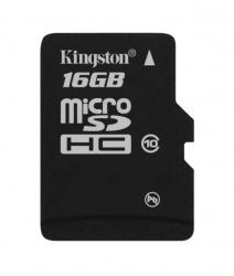 Memoria Flash Kingston, 16GB microSDHC Clase 10