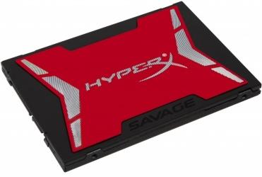 Kit SSD HyperX Savage, 480GB, SATA III, 2.5'', 7mm - Incluye Kit de Instalación