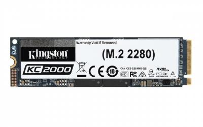 SSD Kingston KC2000 NVMe, 250GB, PCI Express 3.0, M.2 ― ¡Obtén 15% de descuento al comprarlo con una laptop seleccionada!