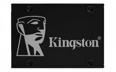 Kit SSD Kingston KC600, 256GB, SATA III, 2.5