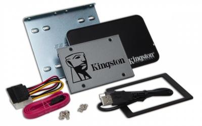 Kit SSD Kingston UV500, 960GB, SATA III, 2.5'', 7mm - Incluye Kit de Instalación