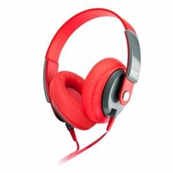 Klip Xtreme Audífonos con Micrófono Obsession, Alámbrico, 1.2 Metros, 3.5mm, Rojo