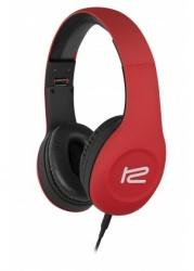 Klip Xtreme Audífonos con Micrófono KHS-815RD, Alámbrico, 1.5 Metros, 3.5mm, Rojo