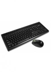Kit de Teclado y Mouse Klip Xtreme KKW-110S, Inalámbrico, USB, Negro (Español)