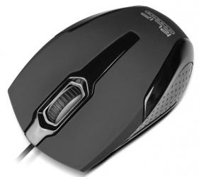 Mouse Klip Xtreme Óptico KMO-120BK, Alámbrico, USB, 1000DPI, Negro/Gris