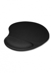 Mousepad Klip Xtreme KMP-100B con Descansa Muñecas de Gel, Negro