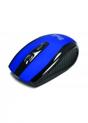 Mouse Klip Xtreme Óptico KMW-340BL, Inalámbrico, USB, 1600DPI, Azul