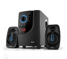 Klip Xtreme Blue Wave II Mini Componente, Bluetooth, 40W RMS, USB, Negro