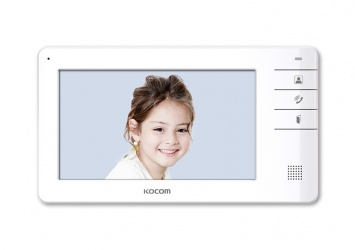 Kocom Videoportero KCV-S701EB con Monitor LCD 7'', Blanco
