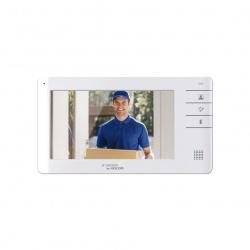 """Kocom Videoportero KCV-S701M, Monitor 7 """", Altavoz, Alámbrico, Blanco"""