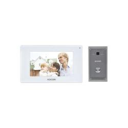Kocom Videoportero KCV544SDMB con Monitor 7'', Alámbrico, Blanco - incluye Kit de Instalación