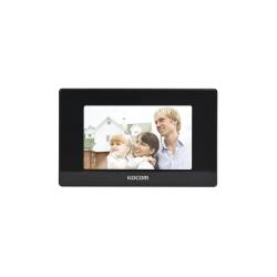 Kocom Videoportero KCV544SDMB, Monitor 7'', Alámbrico, Negro
