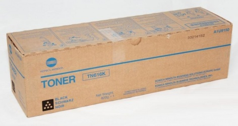 Tóner Konica Minolta TN616K Negro, 41500 Páginas