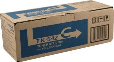 Tóner Kyocera TK-542C Cyan, 4000 Páginas