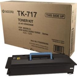 Tóner Kyocera TK-717 Negro, 34.000 Páginas