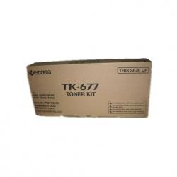 Toner Kyocera TK-677 Negro, 20.000 Páginas