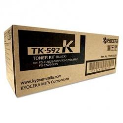 Tóner Kyocera TK-592K Negro, 7000 Páginas