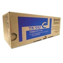 Tóner Kyocera TK-592 Cyan, 5000 Páginas