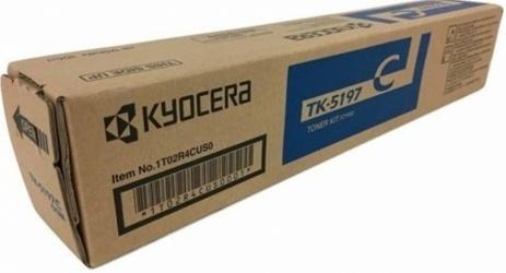 Tóner Kyocera TK-5197C Cyan, 7000 Páginas