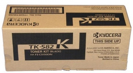 Tóner Kyocera TK-582K Negro, 3500 Páginas