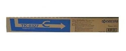 Tóner Kyocera TK-8327C Cyan, 18000 Páginas