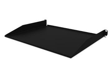 Laces Charola para Rack 19'' x 10'', 1U, hasta 15 kg, Negro
