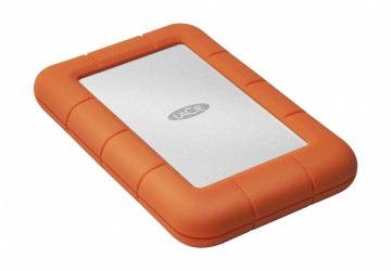 Disco Duro Externo LaCie Rugged Mini, 4TB, USB 3.0, Naranja, A Prueba de Agua y Golpes - para Mac/PC