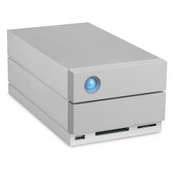 Disco Duro Externo LaCie 2big Dock Thunderbolt 3, 20TB, USB 3.0, Plata - para PC/Mac