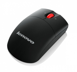 Mouse Lenovo Láser 0A36188, Inalámbrico, Negro