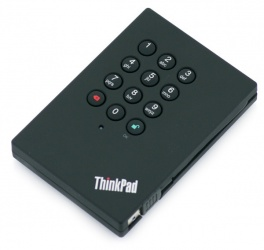 Disco Duro Externo Lenovo ThinkPad 0A65619, 500GB, USB 3.0, 5400RPM, Negro