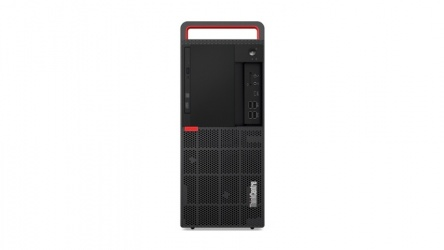 Computadora Lenovo ThinkCentre M920T, Intel Core i7-8700 3.20GHz, 12GB, 1TB, Windows 10 Pro 64-bit, Negro/Rojo