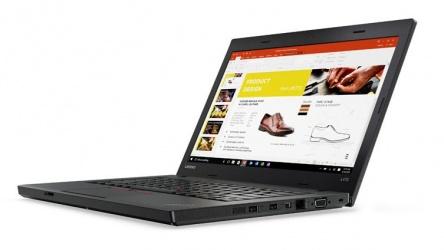 Laptop Lenovo ThinkPad L470 14'' HD, Intel Core i5-7200U 2.50GHz, 4GB, 500GB, Windows 10 Pro 64 bits, Negro