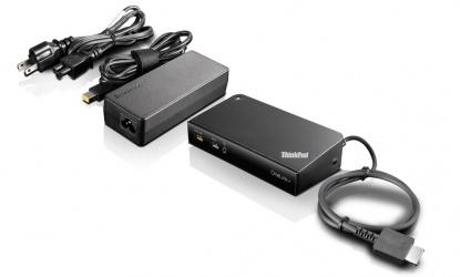 Lenovo Hub USB 3.0 ThinkPad OneLink+, 4 Puertos, Negro