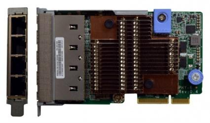 Lenovo Tarjeta de Red PCI Express, Alámbrico, 1000 Mbit/s, 4x RJ-45